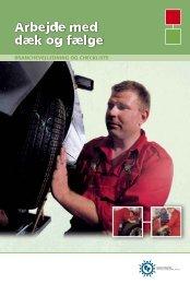 Arbejde med dæk og fælge - Industriens Branchearbejdsmiljøråd
