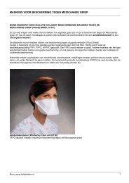 Mondmaskers voor bescherming tegen Mexicaanse ... - Huidziekten.nl