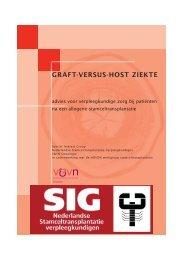 Advies Graft versus Host ziekte - V&VN Oncologie