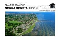 Planprogram Norra Borstahusen, del 1 - Landskrona kommun