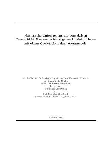 PDF (18,7 MB) - Institut für Meteorologie und Klimatologie an der ...