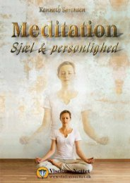 MEDITATION - SJÆL & PERSONLIGHED - Kenneth ... - Visdomsnettet