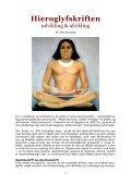 HIEROGLYFSKRIFTEN - UDVIKLING & AFVIKLING ... - Visdomsnettet - Page 3