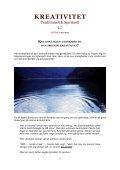KREATIVITET - TRADITIONELT & SPIRITUELT - 4:7 ... - Visdomsnettet - Page 3