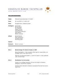 Beslutningsreferat 5-2007