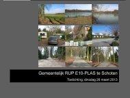 Presentatie bewonersvergadering 26 maart - Gemeente Schoten