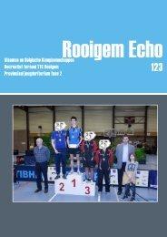 Vlaamse en Belgische Kampioenschappen ... - TTC Rooigem