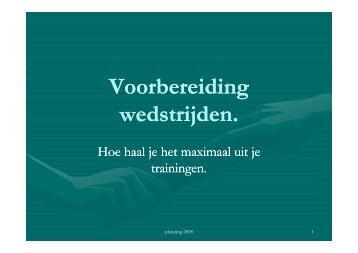 Presentatie wedstrijdvoorbereiding (PDF | 1,78 MB) - Atletiek Land ...