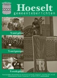 [2012] hoeselt - gemeenteberichten 248 december.indd - Hoeselt.Be