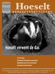 oktober - Hoeselt.Be
