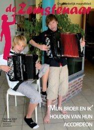 mijn broer en ik houden van hun accordeon - De Zemstenaar