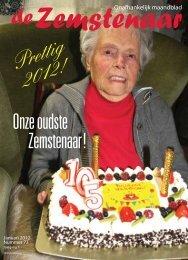 Onze oudste Zemstenaar! Prettig 2012! - De Zemstenaar