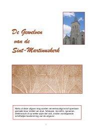 De gewelven van de Sint Martinus Kerk versie 2009 (pdf)