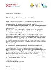 Aan de directies en leerkrachten LO Betreft: vacante betrekkingen ...