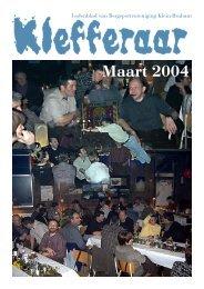 Maart 2004 - Bvkb