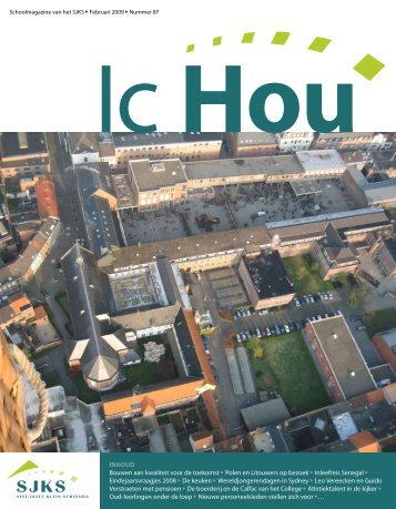IC Hou - januari 2009 - SJKS