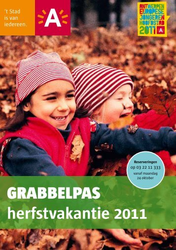 grabbelpas herfstvakantie 2011 - Visit Antwerpen