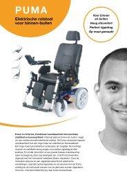 elektrische rolstoel voor binnen-buiten