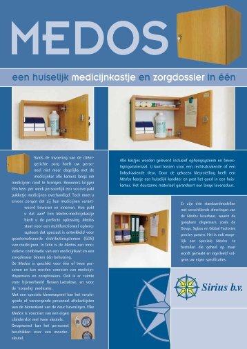 een huiselijk medicijnkastje en zorgdossier in één