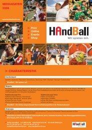 MEDIADATEN 2008 - Handballworld
