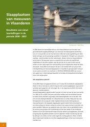 Slaapplaatsen van meeuwen in Vlaanderen - Vlaams Instituut voor ...