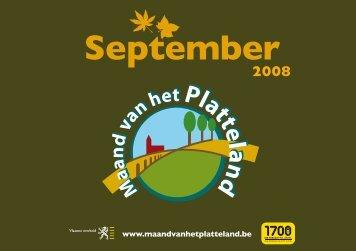 Programmabrochure Maand van het Platteland - Vlaamse ...