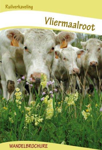 Wandelfolder Vliermaalroot - Vlaamse Landmaatschappij