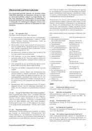 Indicators - Supplement 2007 - Economic-political calender