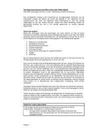 Verslag presentatie 4 juli 2012 - Gemeente Voerendaal