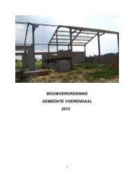 Model-bouwverordening - Gemeente Voerendaal