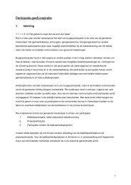 Nota Burgerparticipatie - Gemeente Voerendaal