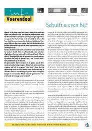 Info Voerendaal, april 2003, jaargang 16, nr. 77 - Gemeente ...
