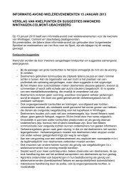Verslag - Gemeente Voerendaal
