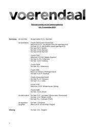 Beknopt verslag van de raadsvergadering d.d. 11 november 2010 ...