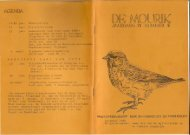 1985 nummer 5 - Vogelwerkgroep Nijmegen