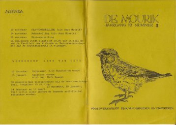 1984 nummer 3 - Vogelwerkgroep Nijmegen
