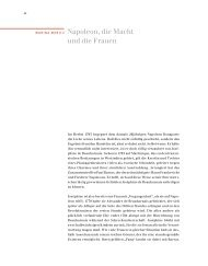 Napoleon, die Macht und die Frauen - Museum für Thüringer ...