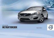 Instruktionsbok - Volvo