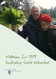 VSVAvisen Juni 2013 Vordingborg Sociale Virksomhed