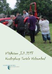 VSVAvisen Juli 2013 Vordingborg Sociale Virksomhed