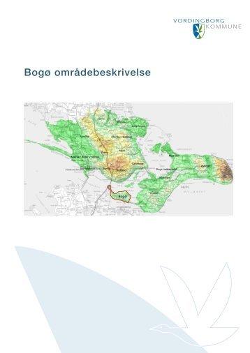 Bogø områdebeskrivelse - Vordingborg Kommune