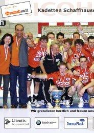 Wir gratulieren herzlich und freuen uns über die s - Handballworld
