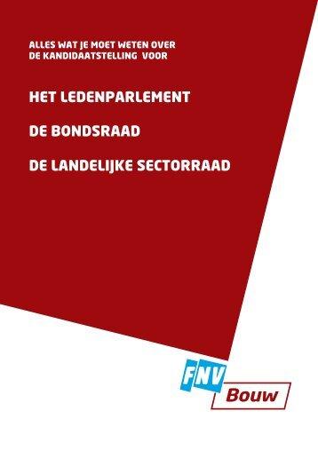 wat je moet weten over de kandidaatstelling - FNV Bouw