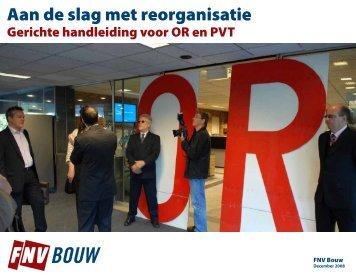 Aan de slag met reorganisatie - FNV Bouw