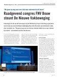 In dit nummer: Raadgevend congres zegt ja tegen De ... - FNV Bouw - Page 6