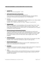 Principeakkoord cao Railinfrastuctuur 2013-2014 - FNV Bouw