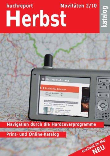 Novitätenkatalog Im Netz - Buchreport