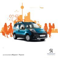 BIPPER TEPEE_ACCESS_NL.indd - Peugeot