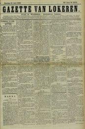 Zondag 12 Juli 1908. 65° Jaar N° 3338. Bureel en Werkhuizen ...
