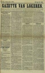 Zondag 15 September 1878. 35* Jaar N* 1849. |DE BLINDE ...